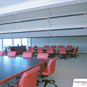 operable wall partitions by skyfold sold by dupree building specialties spokane