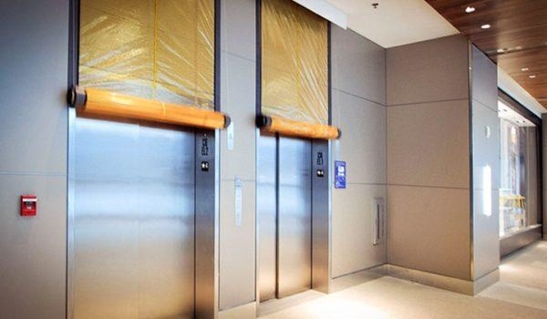 smoke guard vertical fire curtain sold by dupree building specialties spokane washington