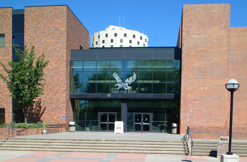 EWU Pence building by dupree building specialties